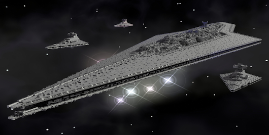 EXECUTOR: 13-Foot, 90,000-Piece Super Star Destroyer in Lego