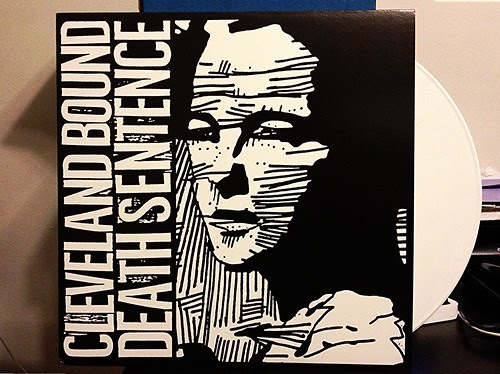 Cleveland Bound Death Sentence - S/T LP - White Vinyl (/200) by Tim PopKid