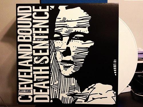 Cleveland Bound Death Sentence - S/T LP - White Vinyl (/200) by Tim PopKid