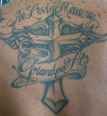 Wonderful In Loving Memory Grandpa Tattoo Design Picture Tattoomagz