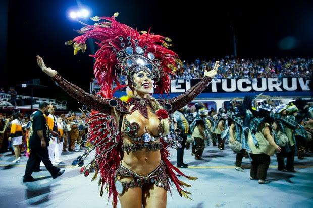 Tati Minerato - Gavioes da Fiel (Foto: Manuela Scarpa/Brazil News)