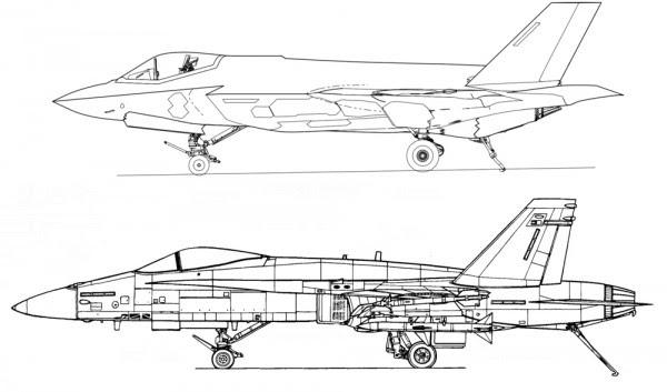f-35-cf-35c-fa-18-J-15-stealth-luchador-naval-jet