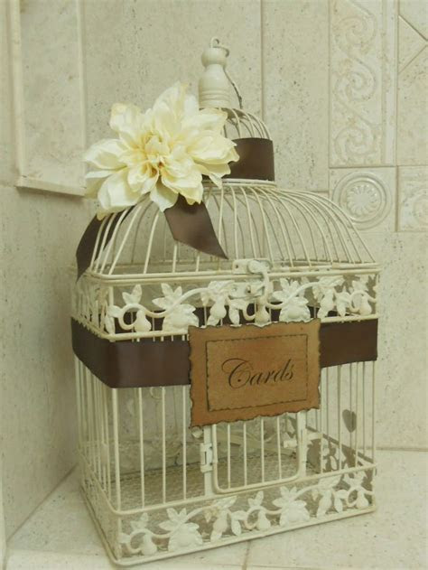Wedding Birdcage Card Holder   Wedding Ideas   Pinterest