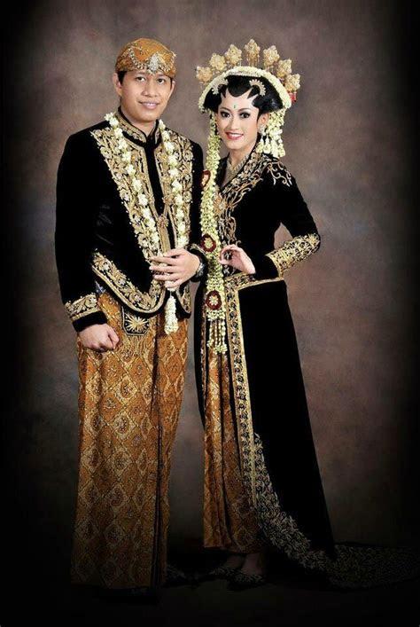 model baju pengantin adat jawa barat cultural wedding