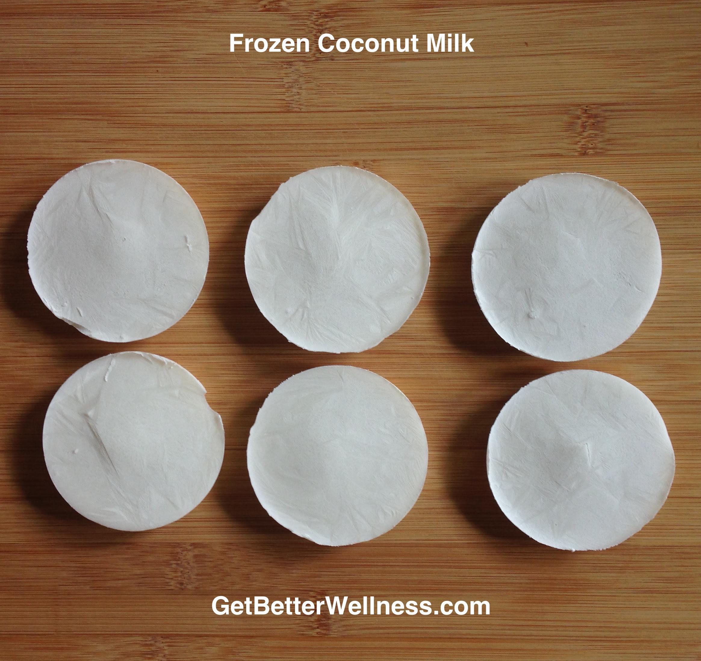 How to Freeze Coconut Milk   Get Better Wellness