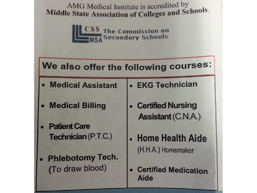 AMG Medical Institute opens its third location in Bloomfield NJ!