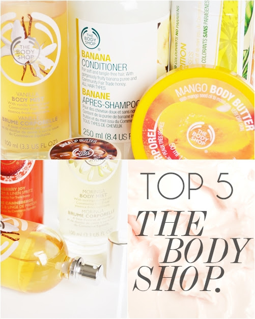 The_Body_Shop_Favourite_Products