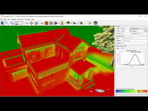 Video tutorial: solarize an imported building in Energy3D