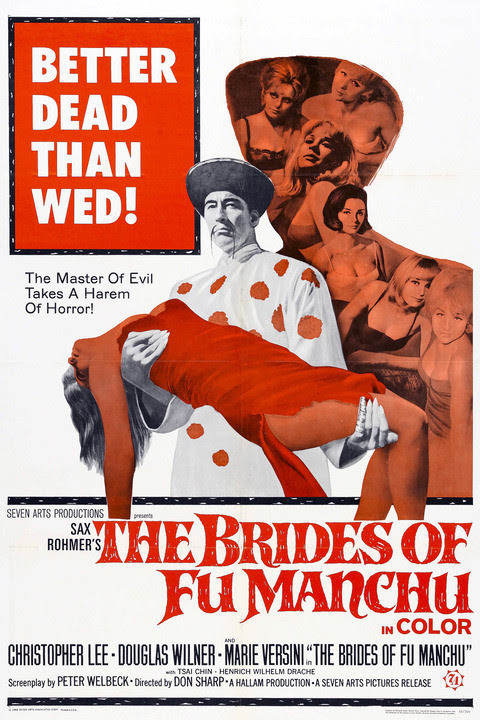 The Brides of Fu Manchu (Don Sharp, 1966) Español