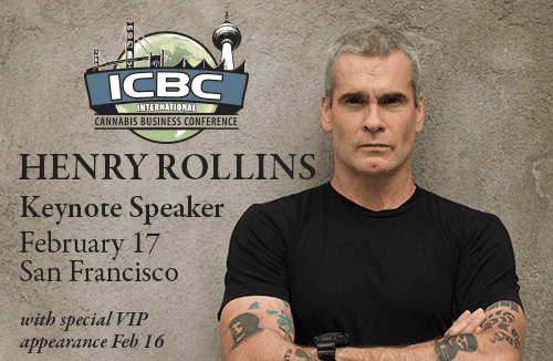 Don't Miss Henry Rollins at the ICBC in San Francisco! - MARIJUANA POLITICS
