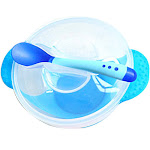 DZT1968 Baby Bowl Tableware Set Infants Feeding Bowls Sucker Sensing Suction Cup