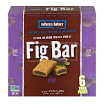 Natures Bakery Fig Bar, Original Fig, 6 Pack, Twin Packs - 6 pack, 2 oz twin packs