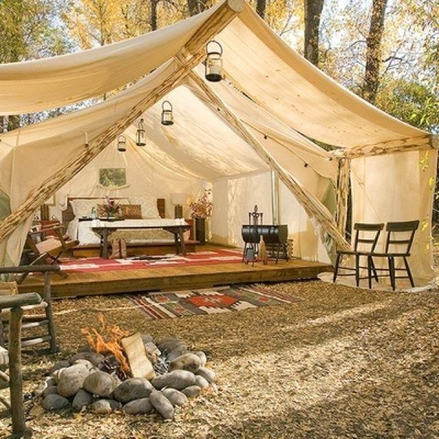 Backyard camping ideas for adults