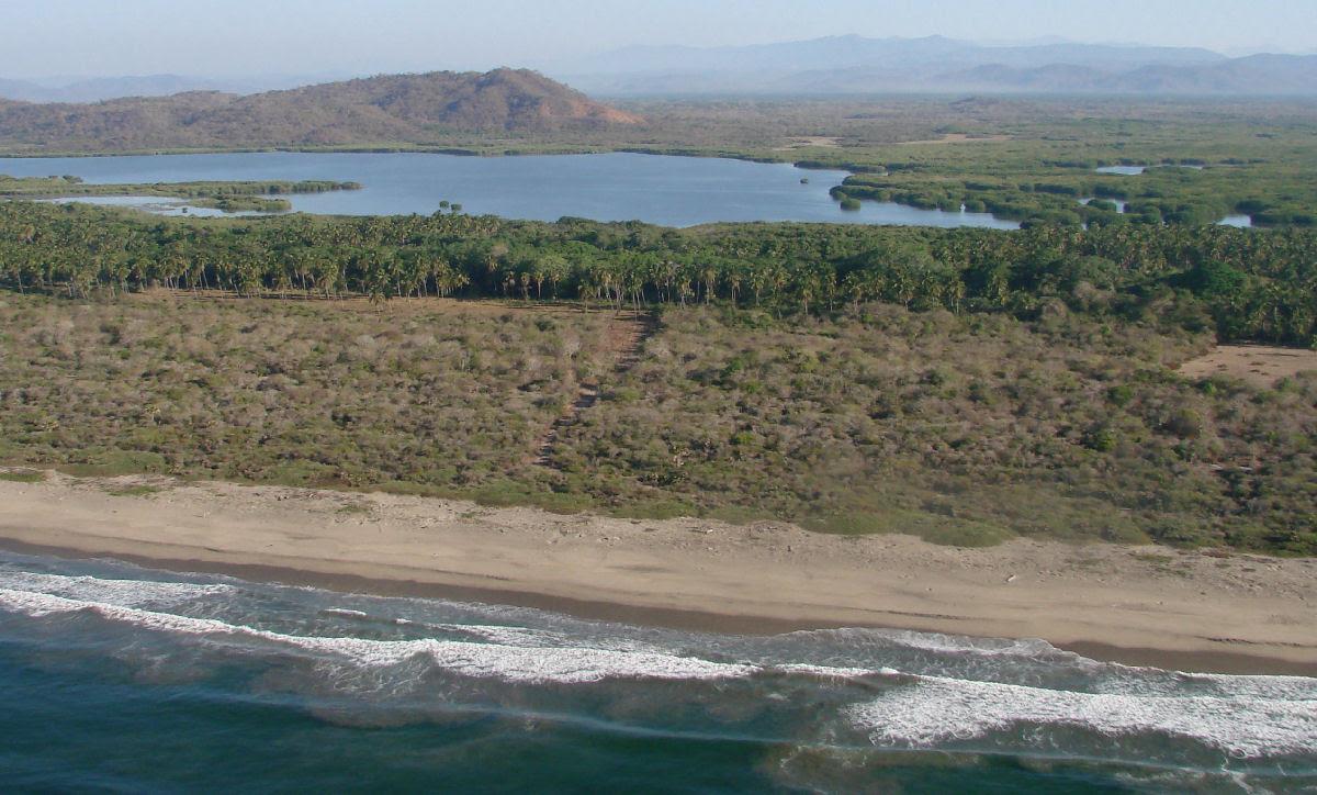Playa de la Bahía de Chacahua