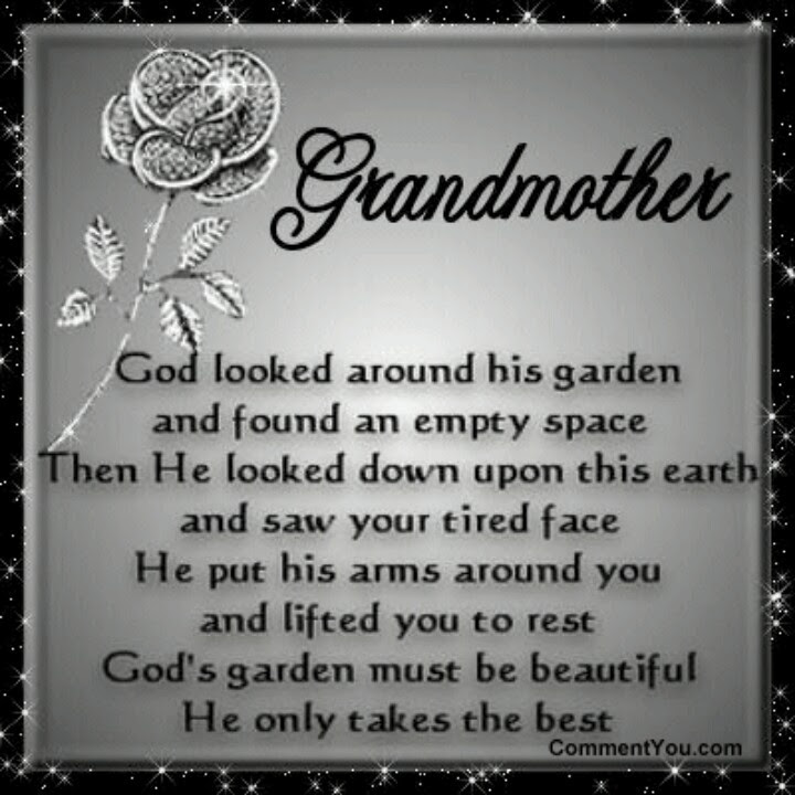 Quotes About Grandmother That Passed Away 46 Quotes