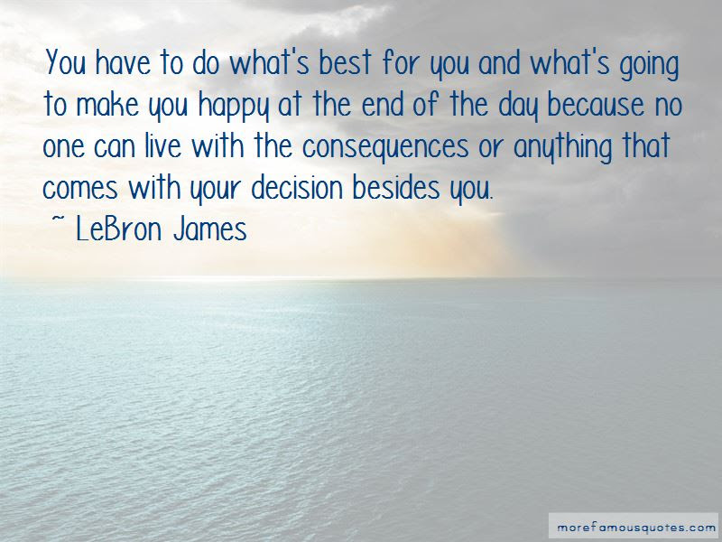 Do Whats Best Quotes Top 45 Quotes About Do Whats Best From