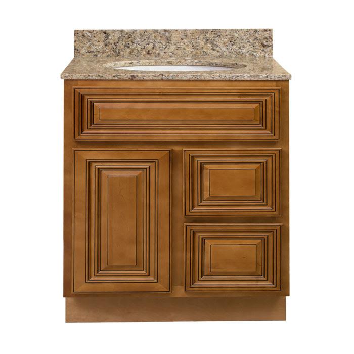 Walnut Ridge Cabinetry Bathroom Charleston Coffee Glaze ...