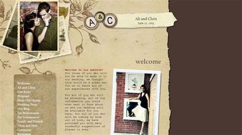 Create a Beautiful Wedding Website With These 6 Services