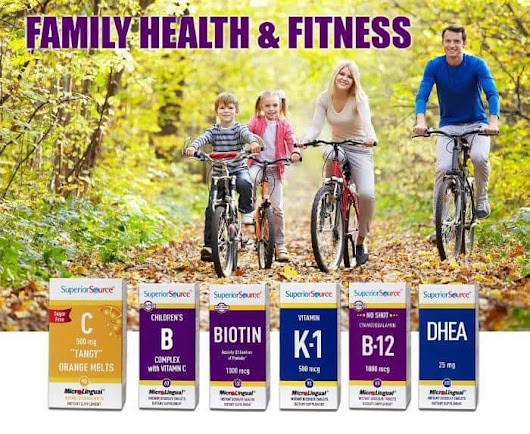 Stay Healthy And Vibrant As A Family With Superior Source Vitamins