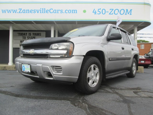 2004 Chevrolet Trailblazer LS 4WD for sale at Car Nation | Used Cars Zanesville