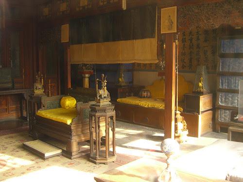 Cixi rules behind the veil - Forbidden City