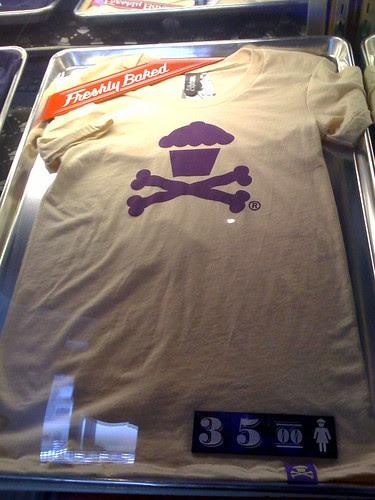 Johnny Cupcakes t-shirt