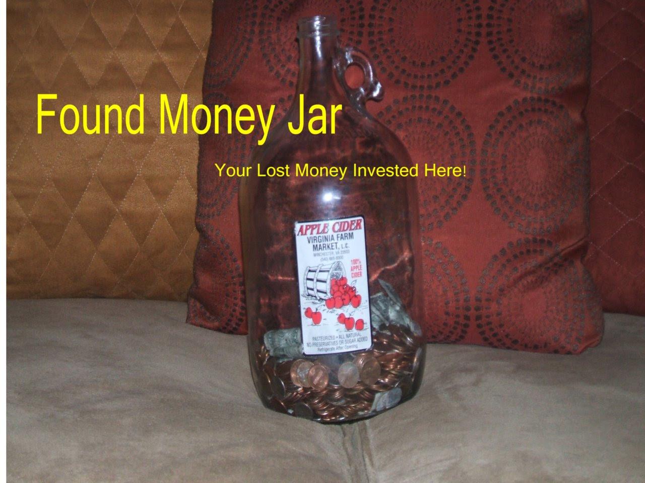 The Found Money Jar