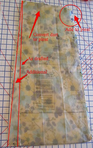 Increase A Line of Front Skirt