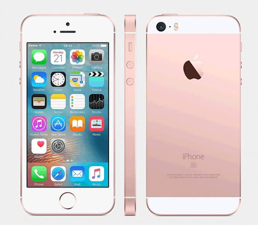 Save £214 on an iPhone SE with Three