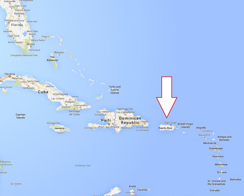 Florida Map 2018 Florida Puerto Rico Map