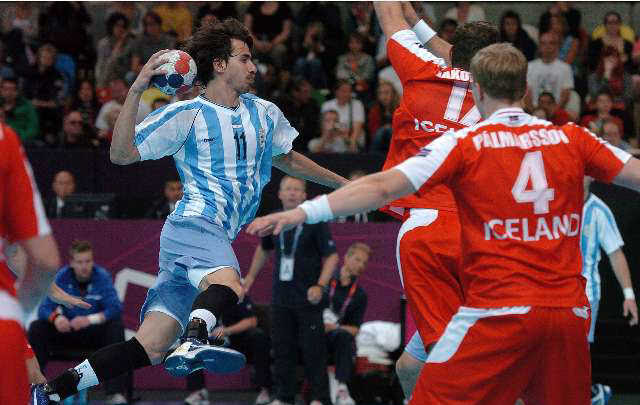 Londres 2012 | Los Gladiadores cayeron ante Islandia en su debut en los JJOO