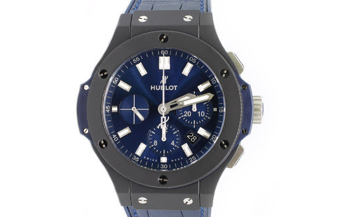 Hublot Big Bang Ceramic Blue 44mm | Adnan Jewellery Dubai | Pre-owned Watches | الإمارات العربية المتحدة |