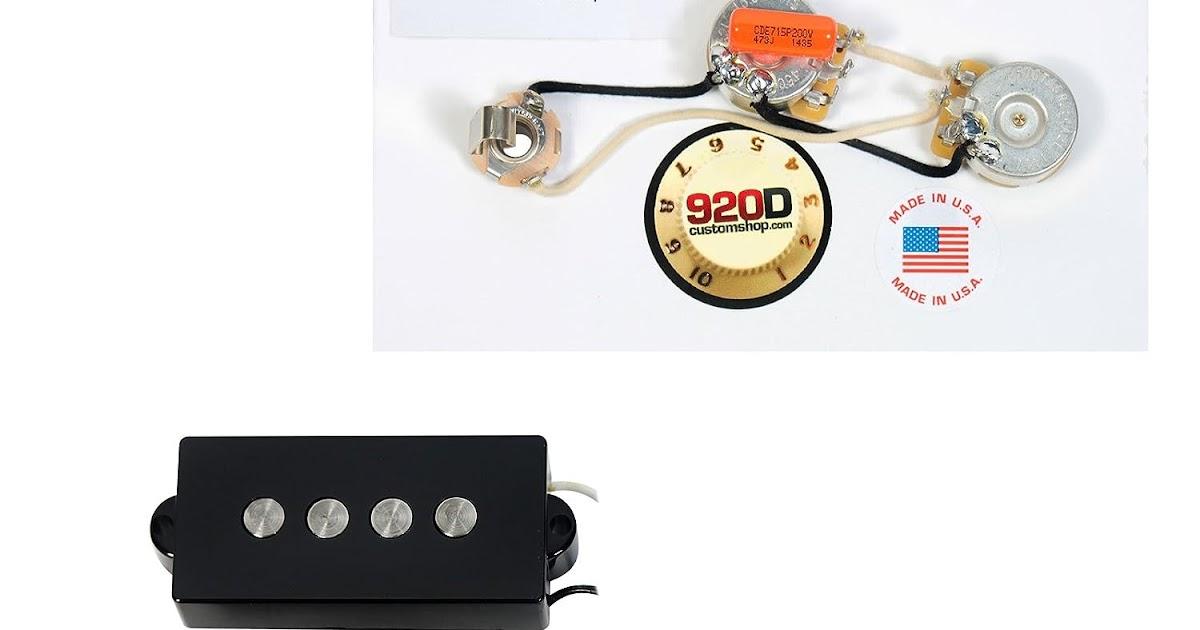 P Bass Pickups Wiring