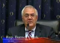 Rep. Barney Frank presiding over Friday's House hearing