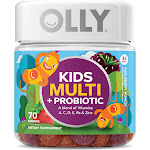 Olly Kids Multi, + Probiotic, Gummies, Yum Berry Punch - 70 gummies