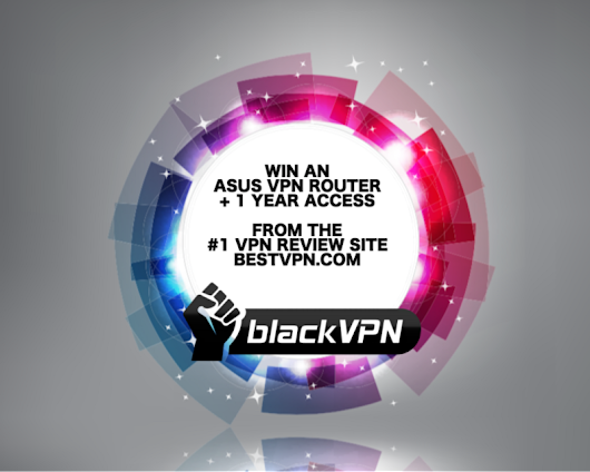 BestVPN Giveaway: Win a VPN Router with One Year Premium Access to blackVPN.