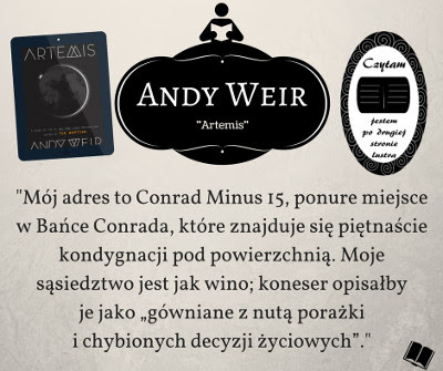 "Andy Weir – ""Artemis"""