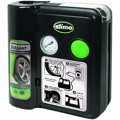 The Slime 70005 Seven-Minute Flat Tire Repair System – Safety in a Can?