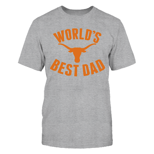 UT Longhorns World's Best Dad