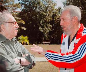 Fidel Castro y Gabriel García Marquez