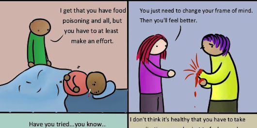 What If People Treated Physical Illness Like Mental Illness?