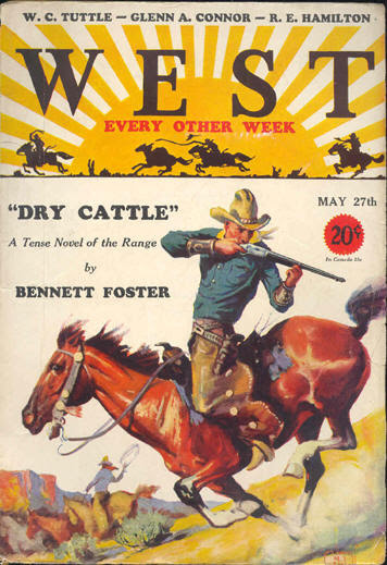 West, May 27th 1931 featuring Bennett Foster