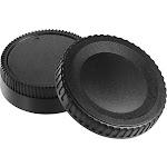 Insignia - Body and Rear Lens Caps for Nikon