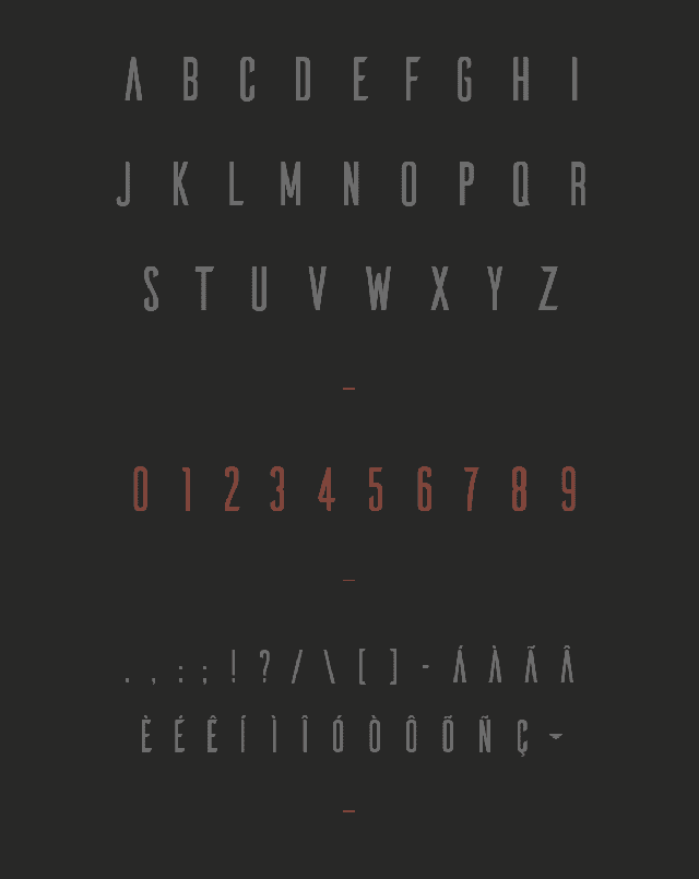Download photoshop font numbers font free Ailerons