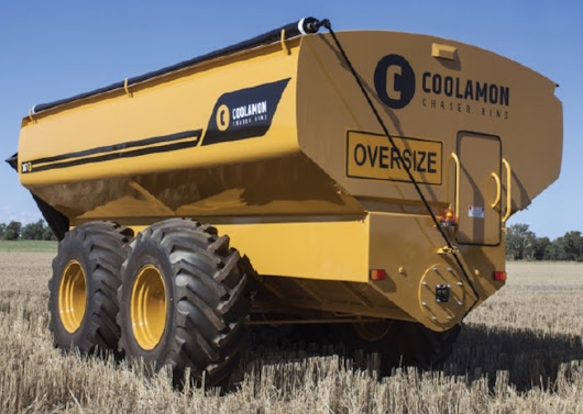 Coolamon Chaser Bins and Spreaders Now Available from Emmetts through Victoria and South Australia!