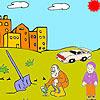 çiftçi Ve Boyama çocuk Oyunu