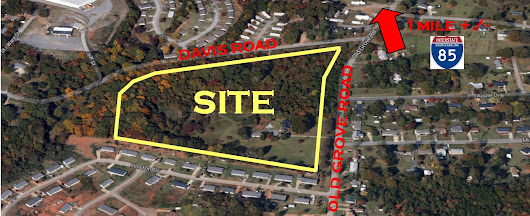 Spectrum Commercial Properties - Development Portfolio, Residential (land), Old Grove Road and Davis Road, Greenville, SC