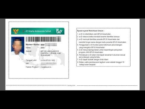 Vidio tutorial pendaftaran BPJS kesehatan online