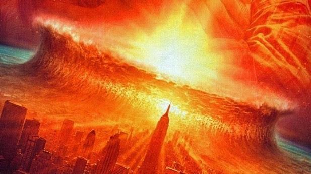 Cena de 'Impacto Profundo': meteoro atinge a Terra
