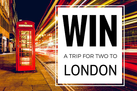 Win a free trip to London for 2 this fall - Nomadic Boys